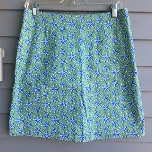 VINEYARD VINES Starfish Skirt Sz.6 MINT!!